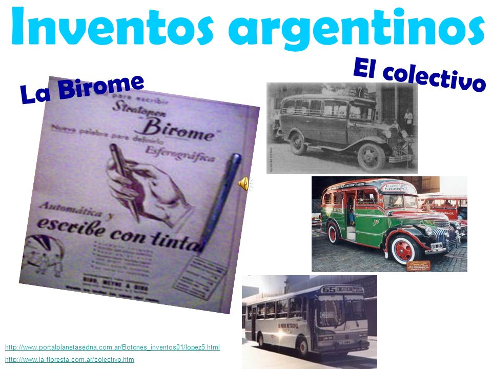 Inventos argentinos El colectivo La Birome