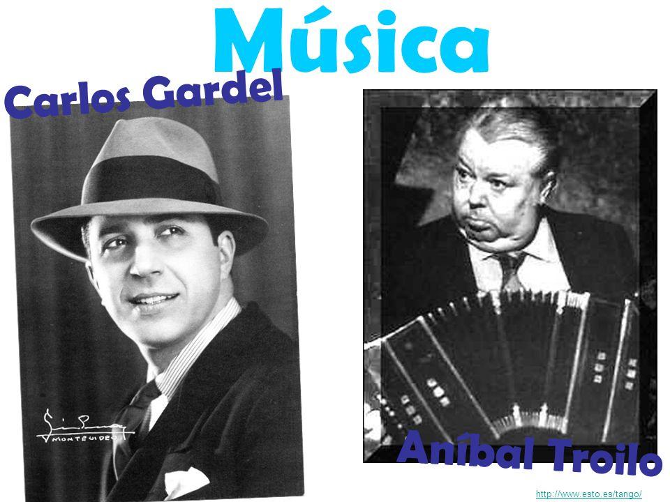 Música Carlos Gardel Aníbal Troilo http://www.esto.es/tango/