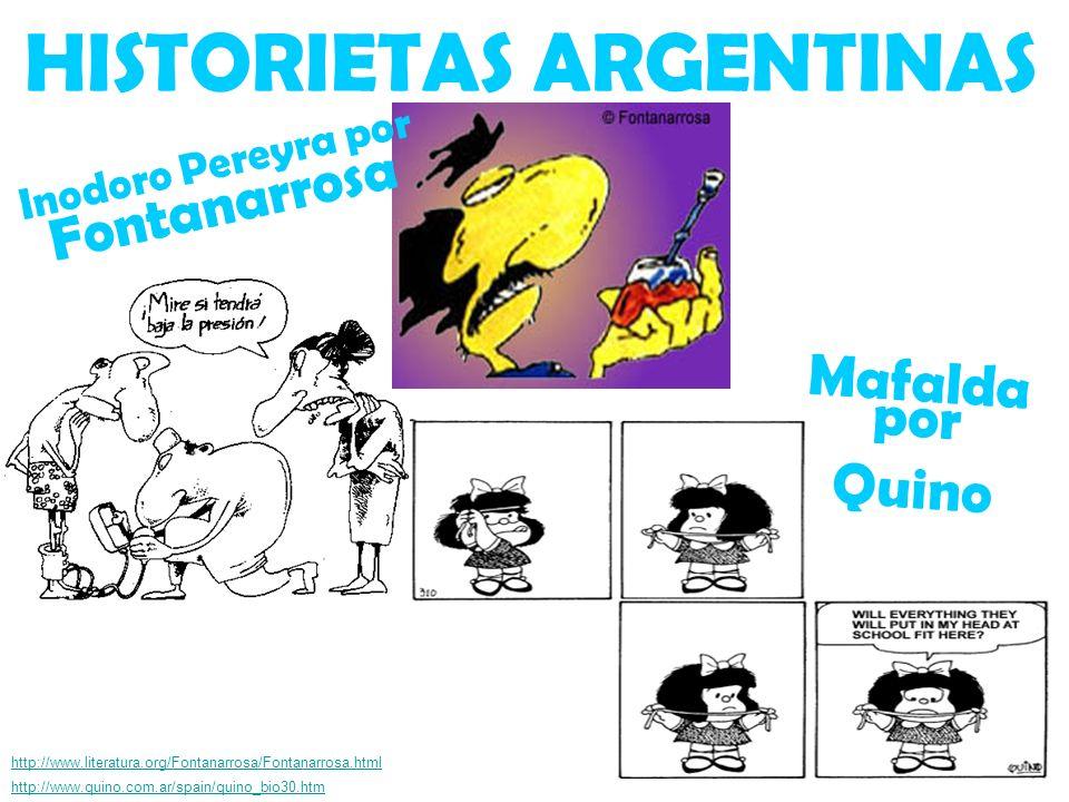 HISTORIETAS ARGENTINAS