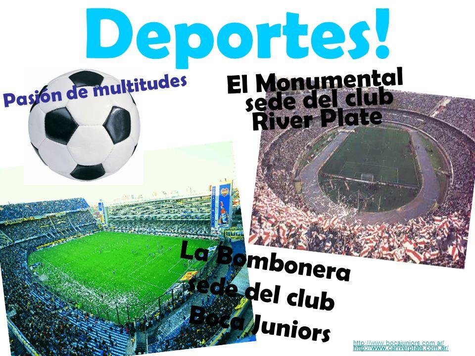 Deportes! El Monumental sede del club River Plate La Bombonera
