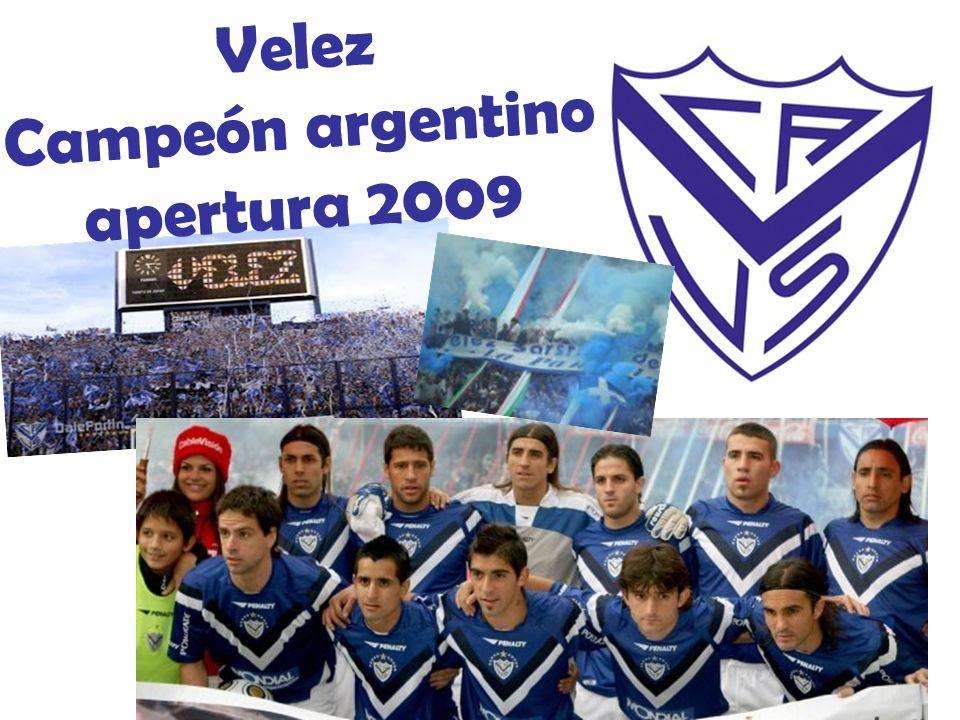 Campeón argentino apertura 2009