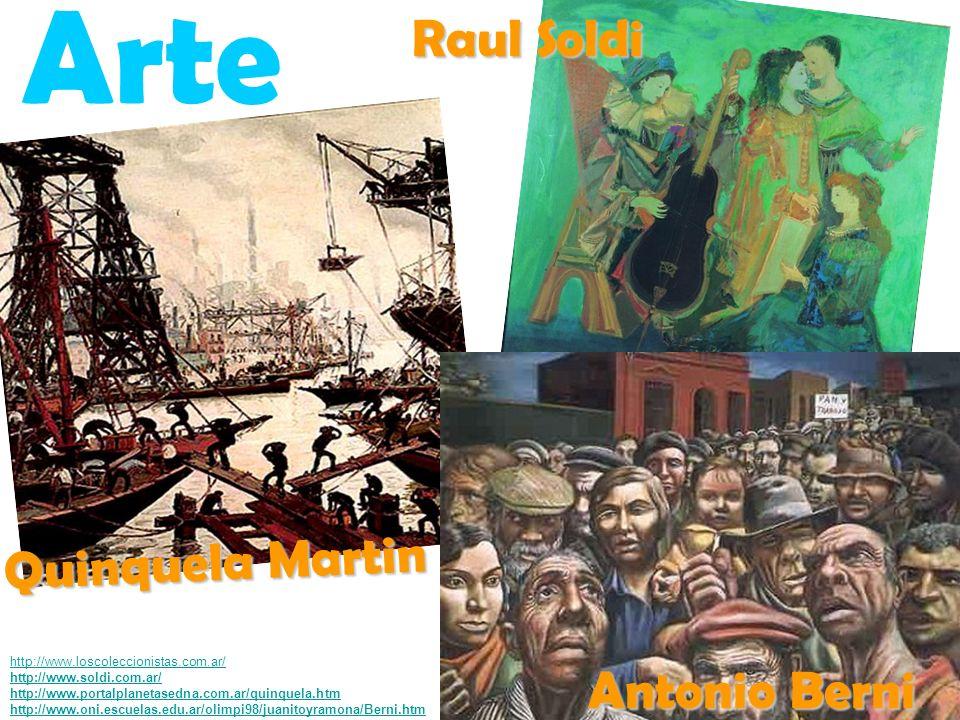 Arte Raul Soldi Quinquela Martin Antonio Berni