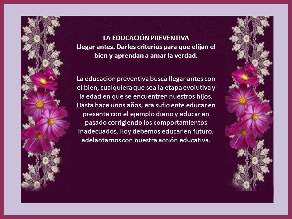 LA EDUCACIÓN PREVENTIVA