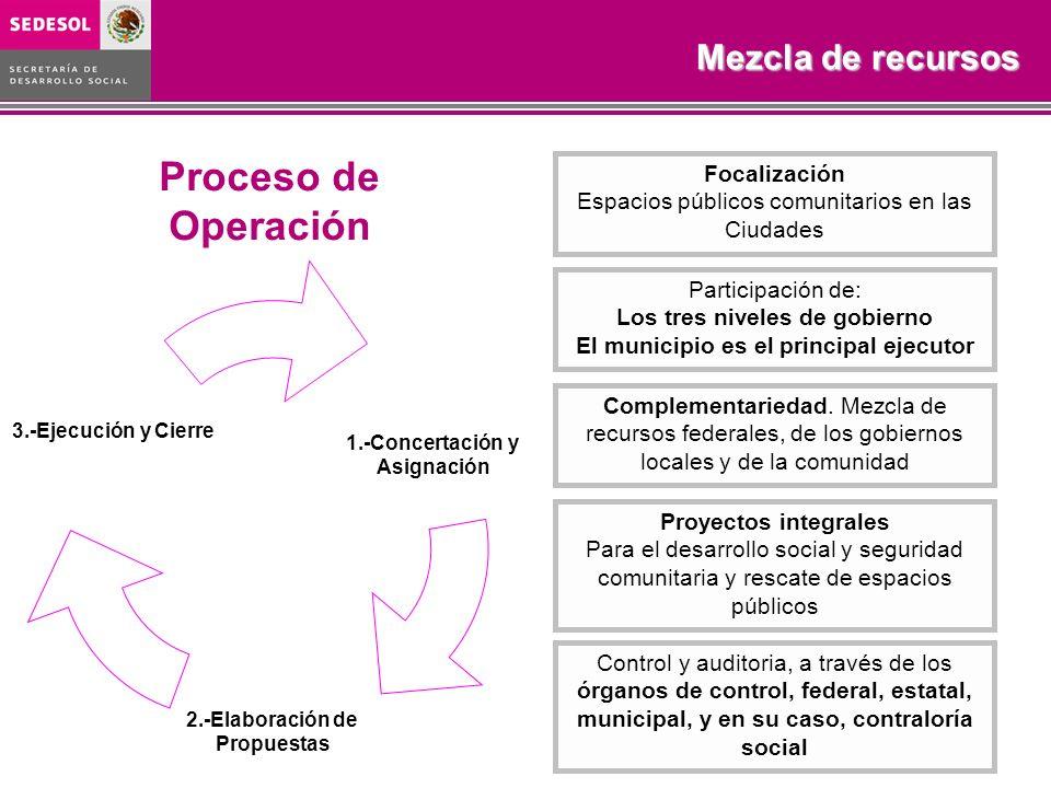 Los tres niveles de gobierno El municipio es el principal ejecutor