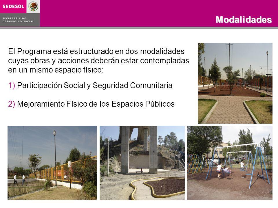 Programa Rescate de Espacios Públicos COBERTURA 2003-2006