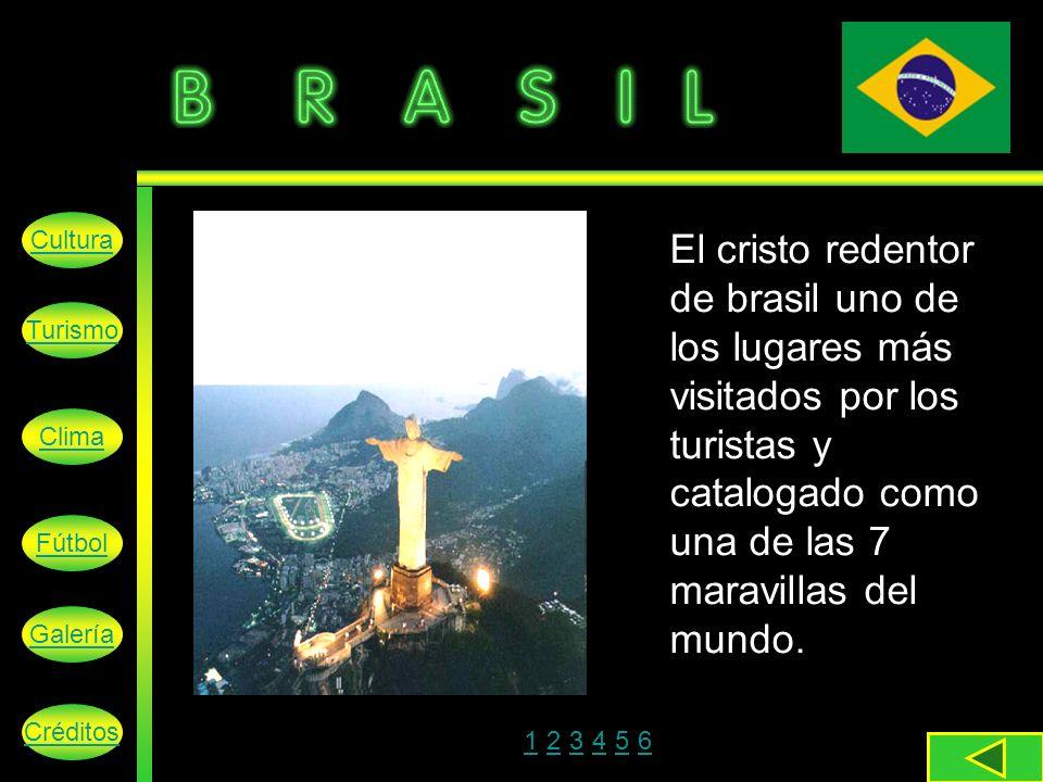 Cultura El cristo redentor de brasil uno de los lugares más visitados por los turistas y catalogado como una de las 7 maravillas del mundo.