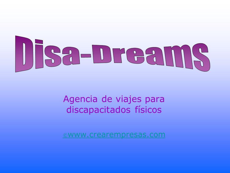 Agencia de viajes para discapacitados físicos ©www.crearempresas.com