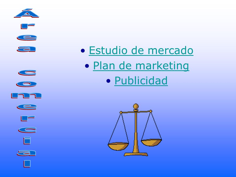 Estudio de mercado Plan de marketing Publicidad Área comercial