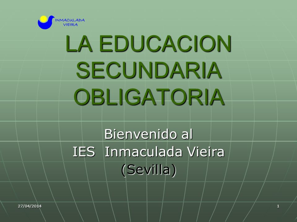 LA EDUCACION SECUNDARIA OBLIGATORIA