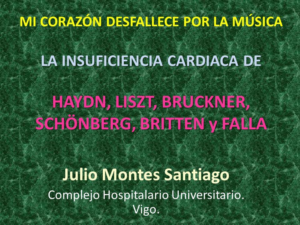 Julio Montes Santiago Complejo Hospitalario Universitario. Vigo.
