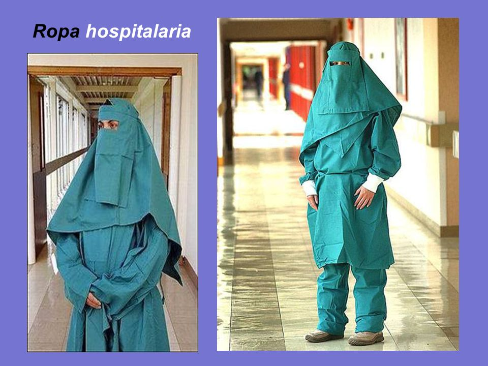 Ropa hospitalaria
