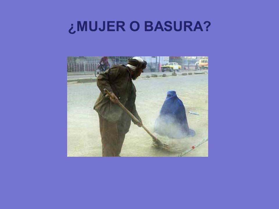 ¿MUJER O BASURA