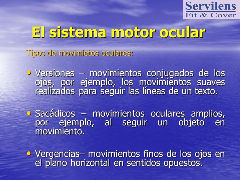 El sistema motor ocular