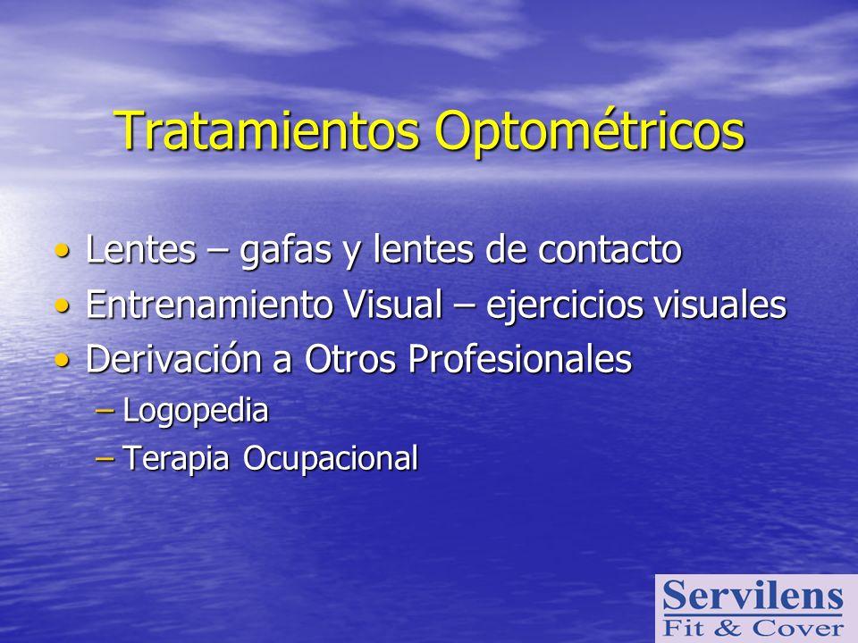 Tratamientos Optométricos