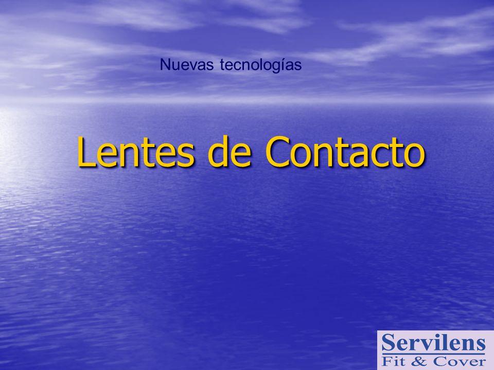 Nuevas tecnologías Lentes de Contacto
