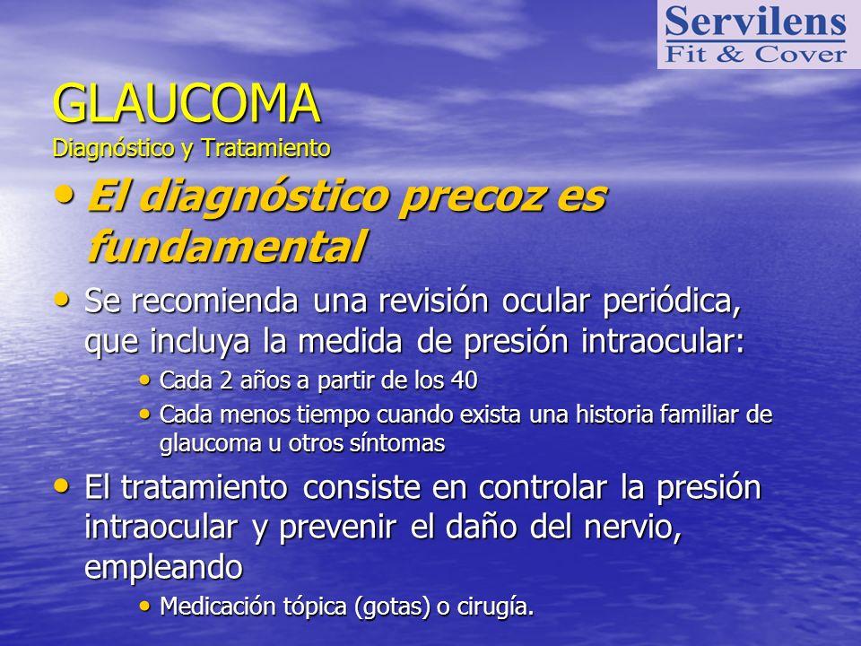 GLAUCOMA Diagnóstico y Tratamiento