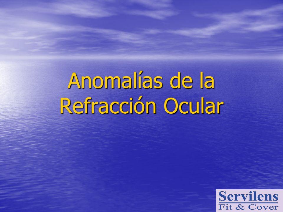 Anomalías de la Refracción Ocular