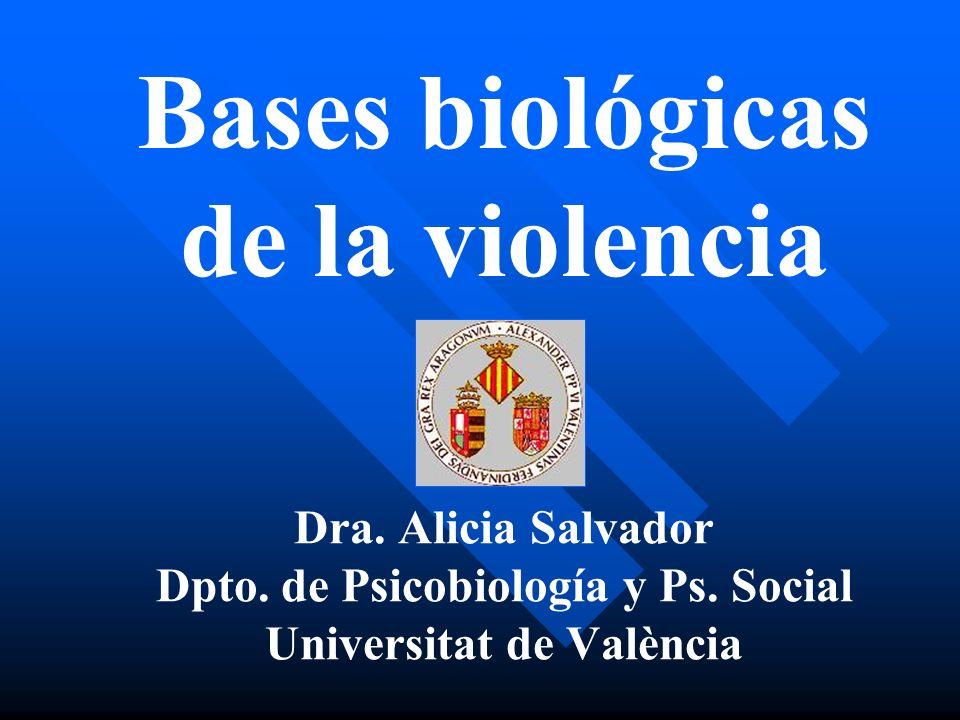 Dpto. de Psicobiología y Ps. Social Universitat de València