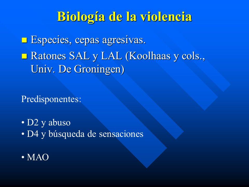 Biología de la violencia