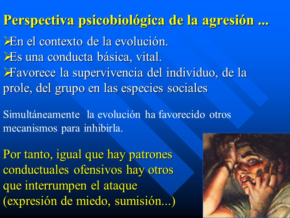 Perspectiva psicobiológica de la agresión ...