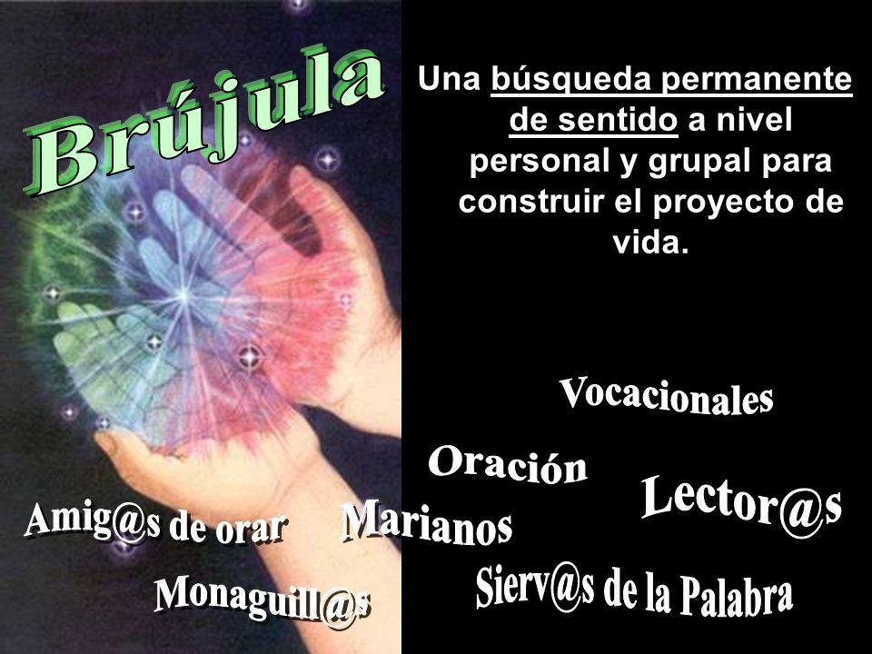 Brújula Vocacionales Oración Lector@s Amig@s de orar Marianos