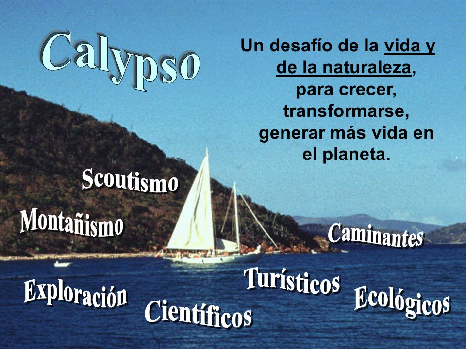Calypso Scoutismo Montañismo Caminantes Turísticos Exploración