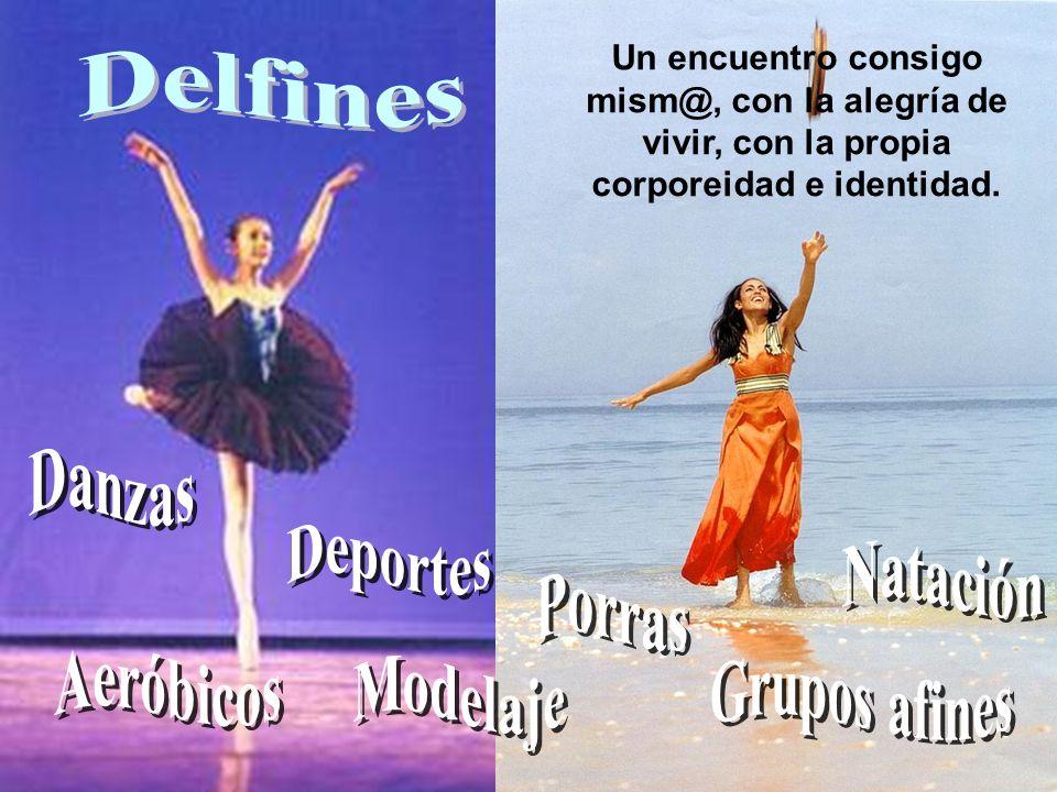 Delfines Danzas Deportes Natación Porras Aeróbicos Modelaje