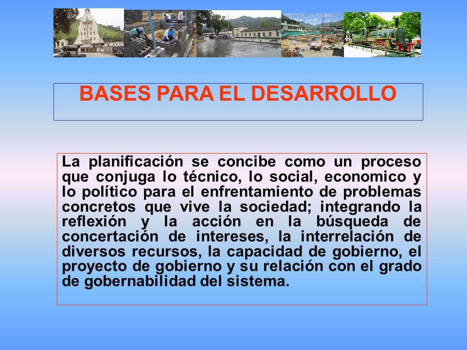 BASES PARA EL DESARROLLO