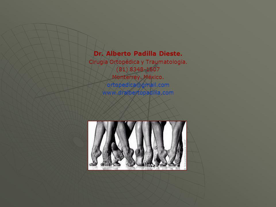 Dr. Alberto Padilla Dieste.