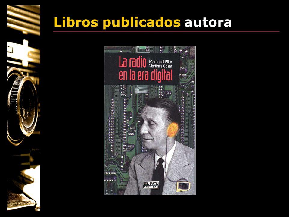 Libros publicados autora