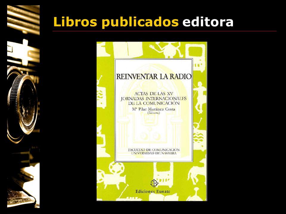 Libros publicados editora