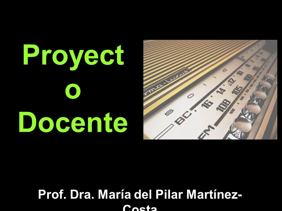 Prof. Dra. María del Pilar Martínez-Costa
