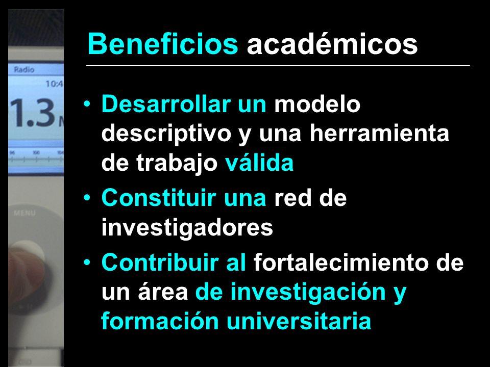 Beneficios académicos