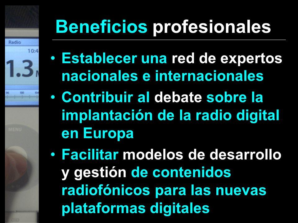 Beneficios profesionales