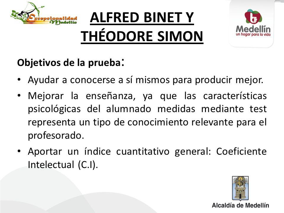 ALFRED BINET Y THÉODORE SIMON