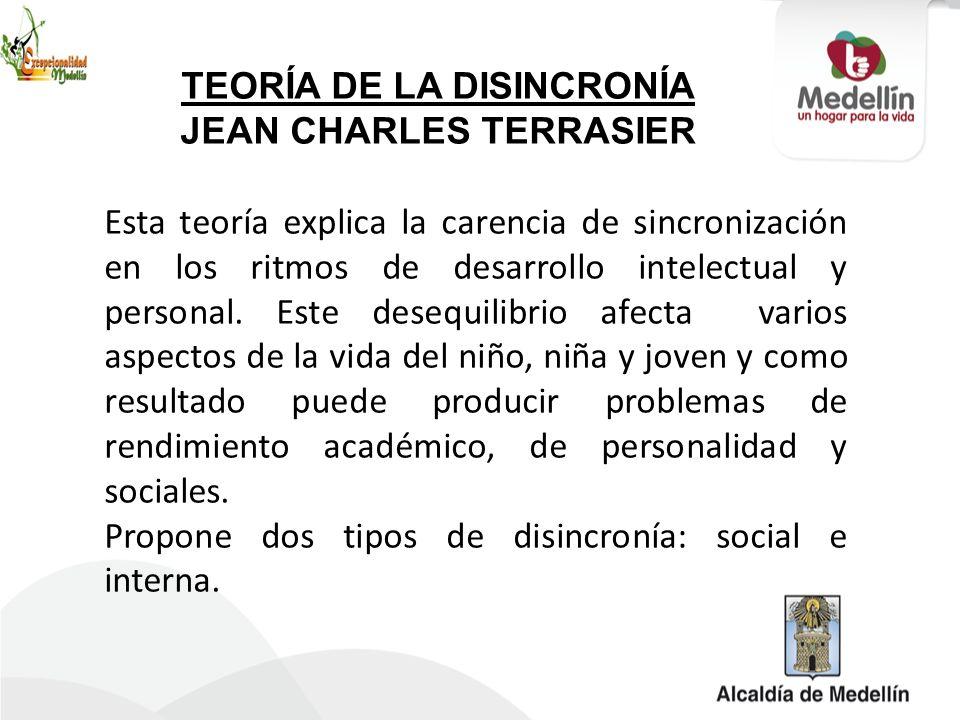 TEORÍA DE LA DISINCRONÍA JEAN CHARLES TERRASIER