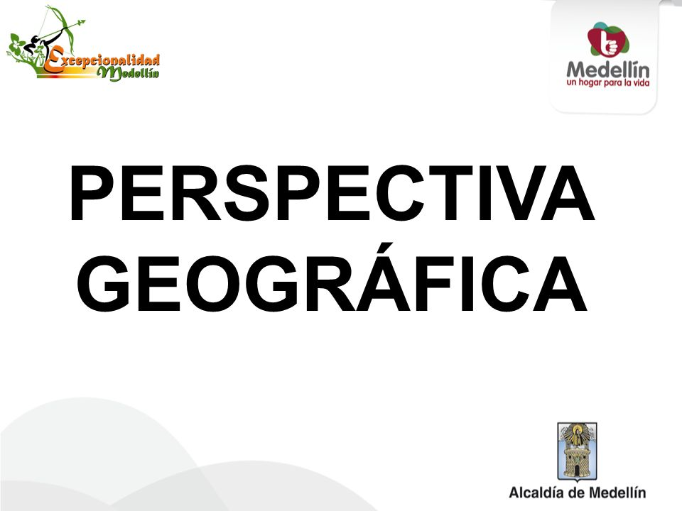 PERSPECTIVA GEOGRÁFICA