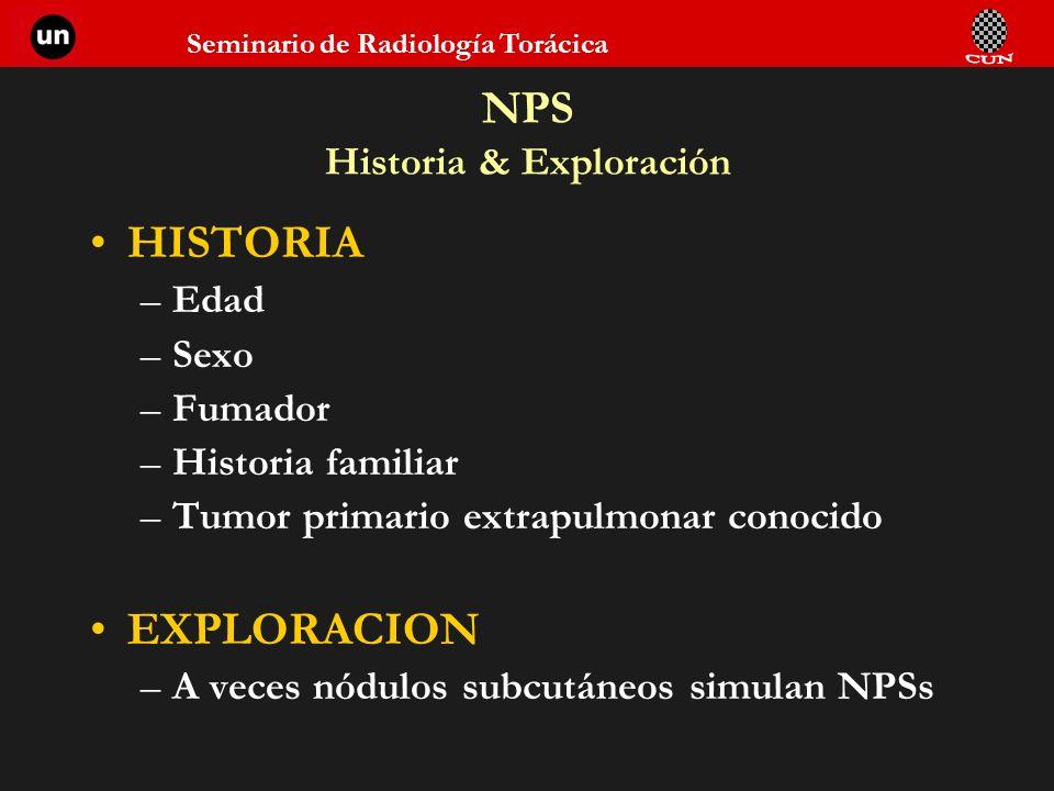 NPS Historia & Exploración