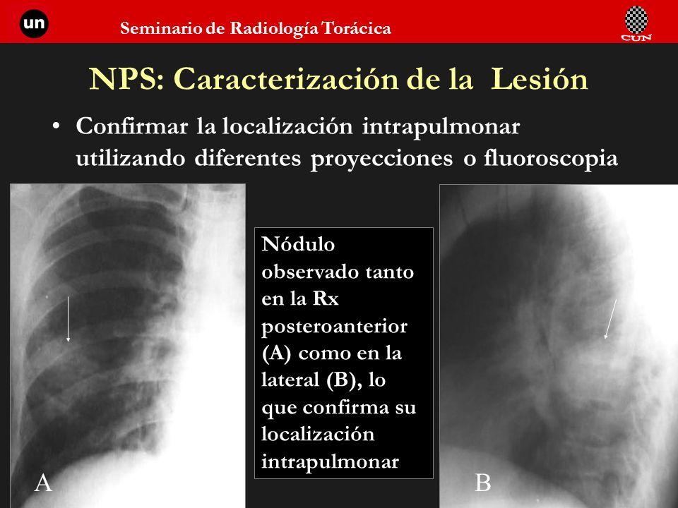 NPS: Caracterización de la Lesión