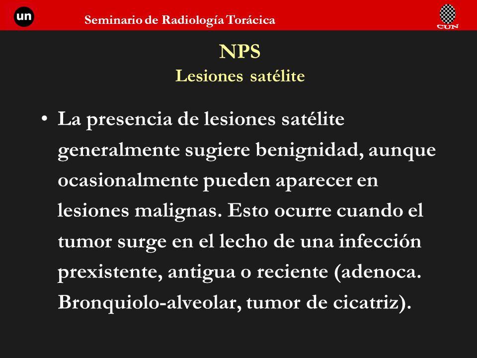 NPS Lesiones satélite