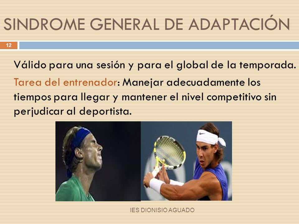SINDROME GENERAL DE ADAPTACIÓN