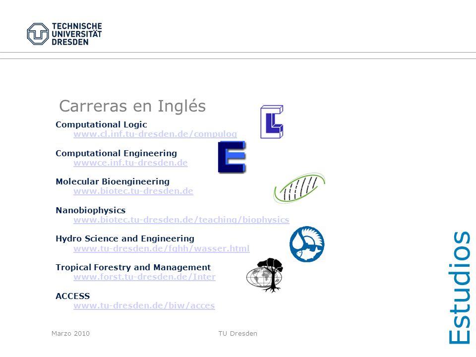 Estudios Carreras en Inglés Computational Logic