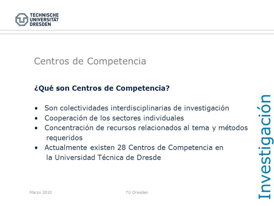 Centros de Competencia