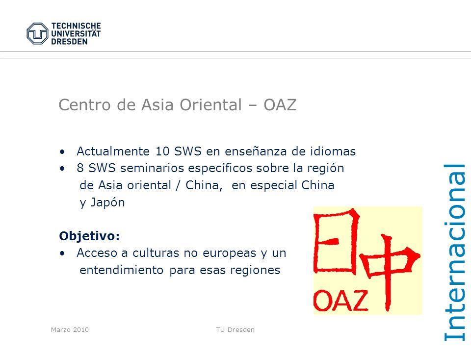 Centro de Asia Oriental – OAZ