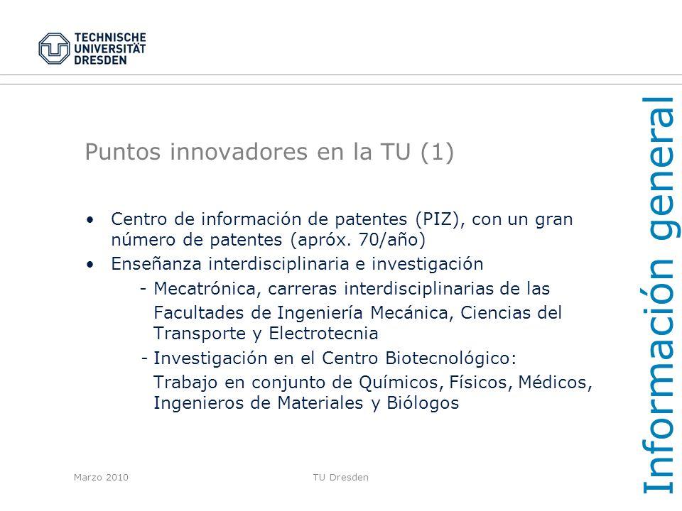 Puntos innovadores en la TU (1)