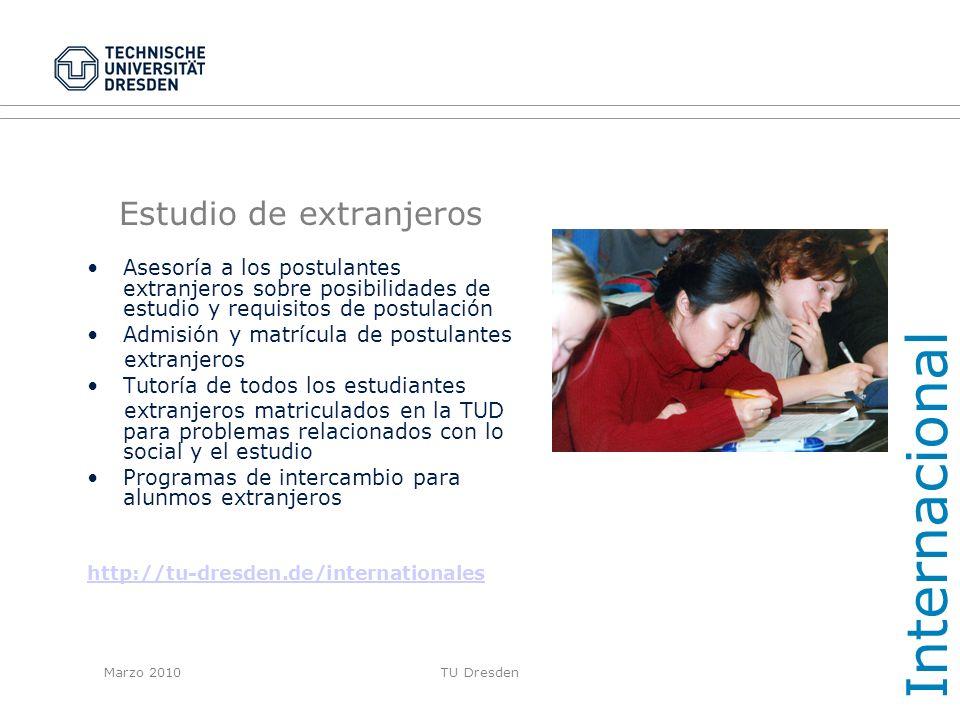 Estudio de extranjeros