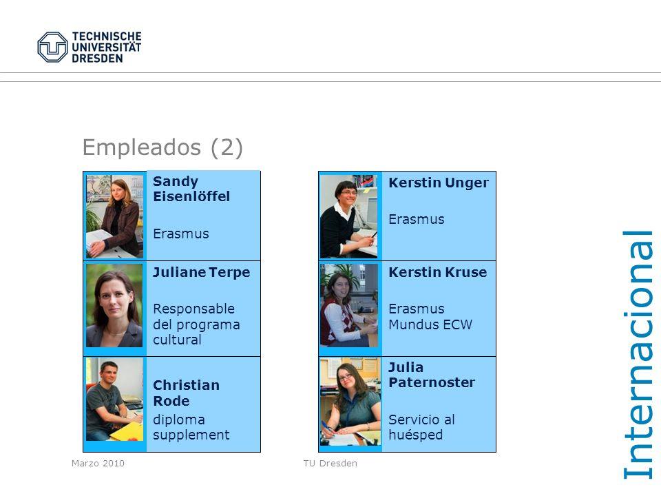 Internacional Empleados (2) Sandy Eisenlöffel Erasmus Kerstin Unger