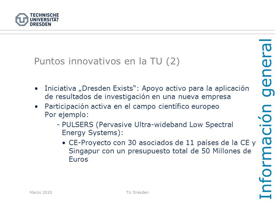 Puntos innovativos en la TU (2)