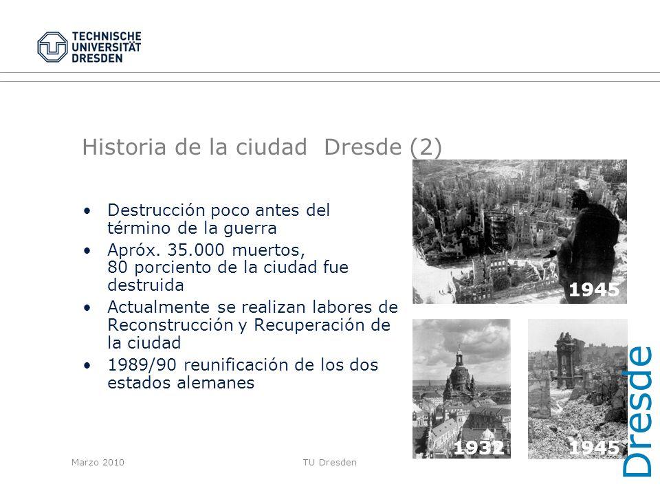 Historia de la ciudad Dresde (2)