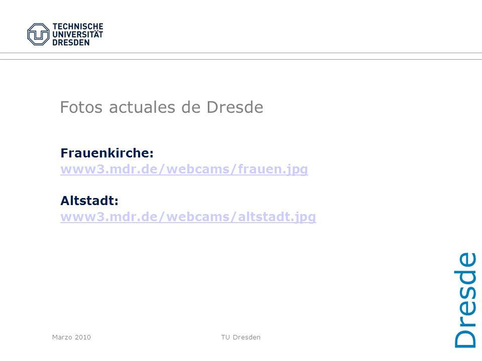 Fotos actuales de Dresde